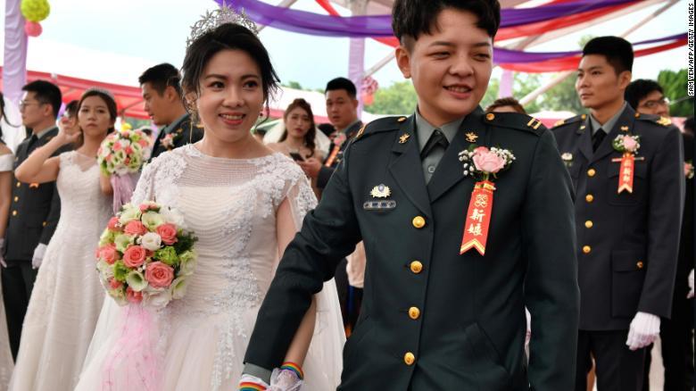 ЛГБТ-весілля на Тайвані