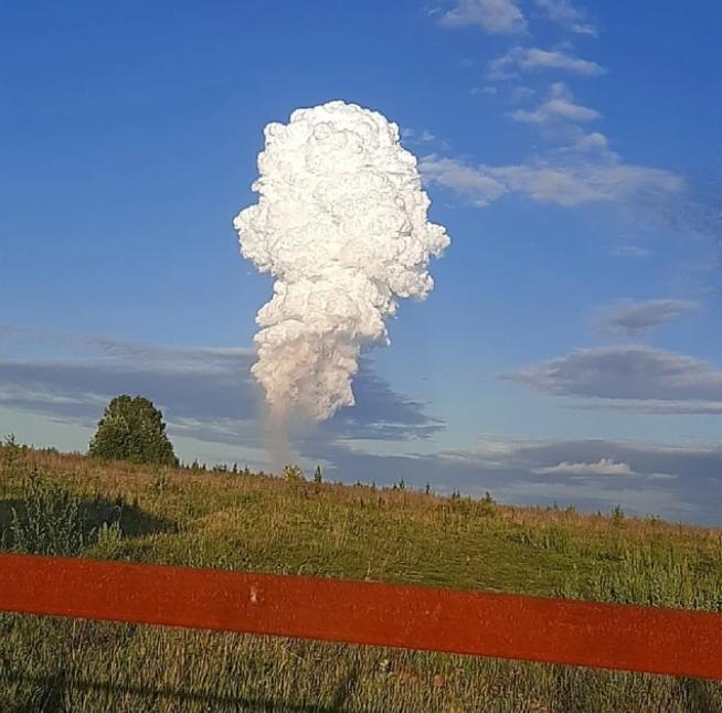 Горела земля. В РФ на магистральном газопроводе произошел взрыв (ФОТО, ВИДЕО) 13