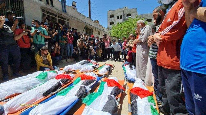 Удар по лагерю беженцев в секторе Газа: погибли мирные жители, в том числе дети (ФОТО)
