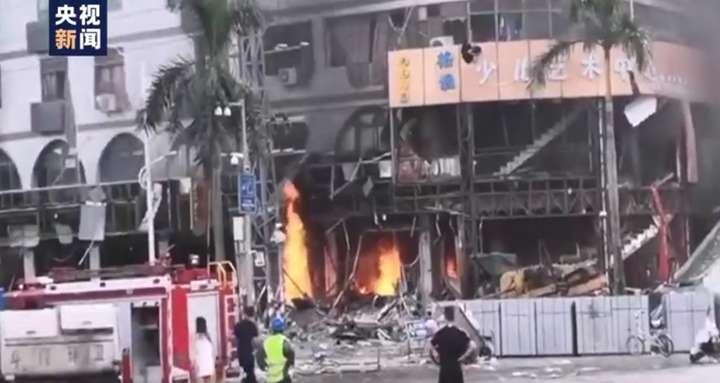 Взрыв произошел рядом с гостиницей в Китае, есть раненые