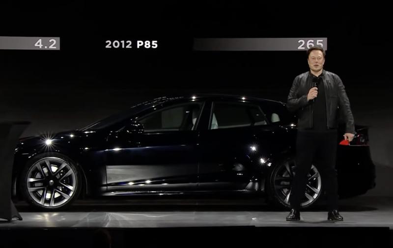 Представлен самый быстрый и дорогой электромобиль Tesla: фото и видео