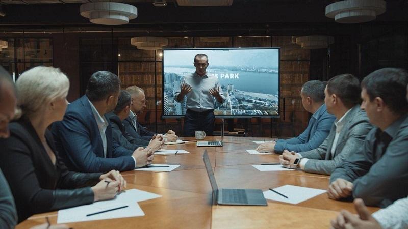Вибори в Дніпрі - Загід Краснов представив проект Парку часу - Апостроф