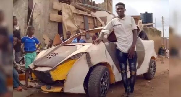 Голь на выдумку хитра. Подросток собрал авто из вторсырья за $200 (ФОТО, ВИДЕО) 1