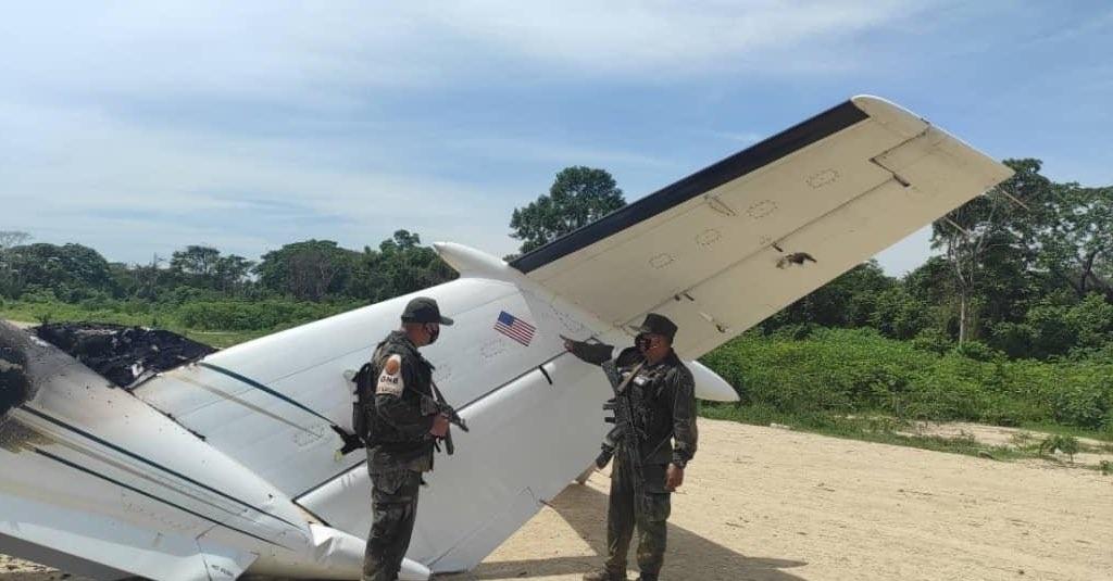 ПВО Венесуэлы сбили самолет США