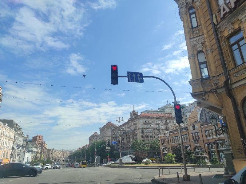 В Киеве пришлось убрать необычный светофор (ФОТО)