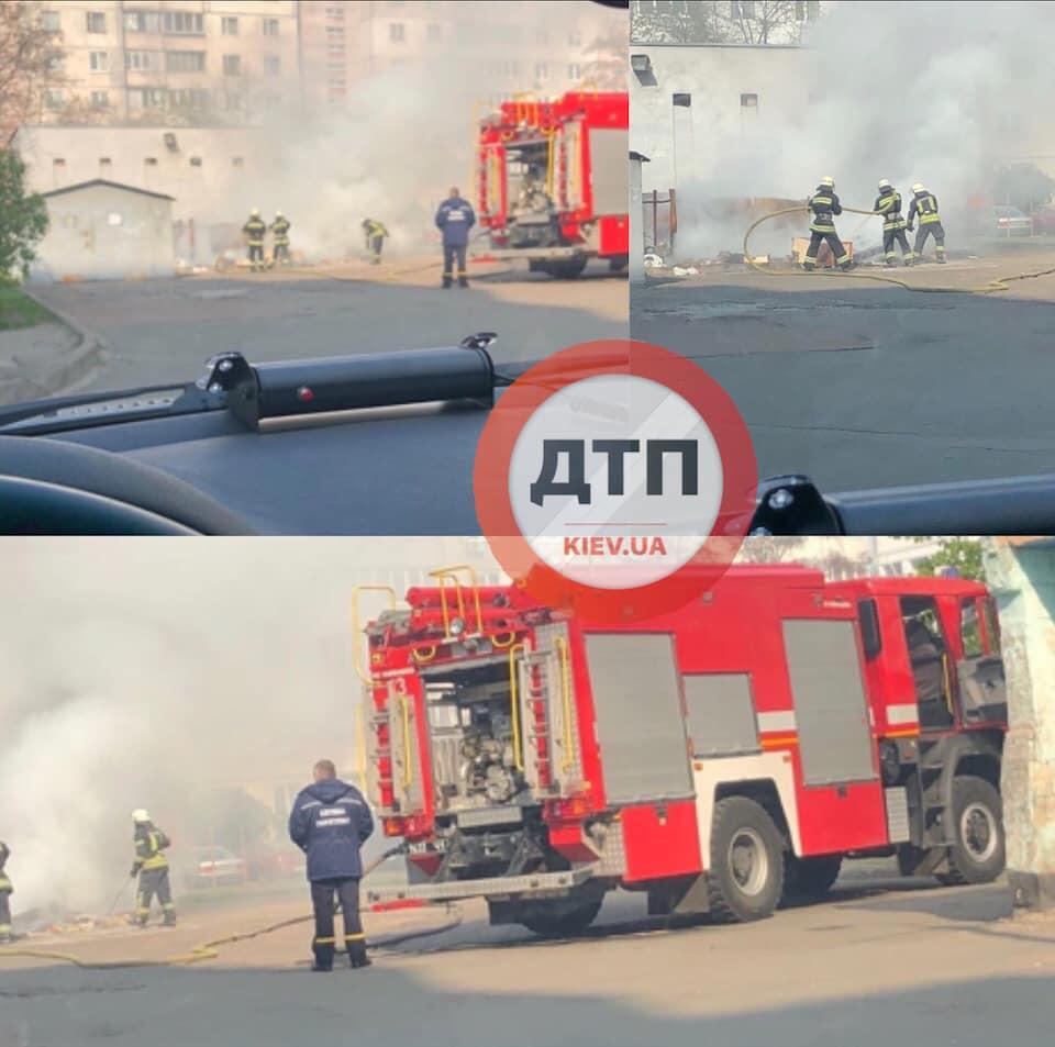 Ні дня без пожежі: в Києві сталася серйозна НП біля житлових будинків