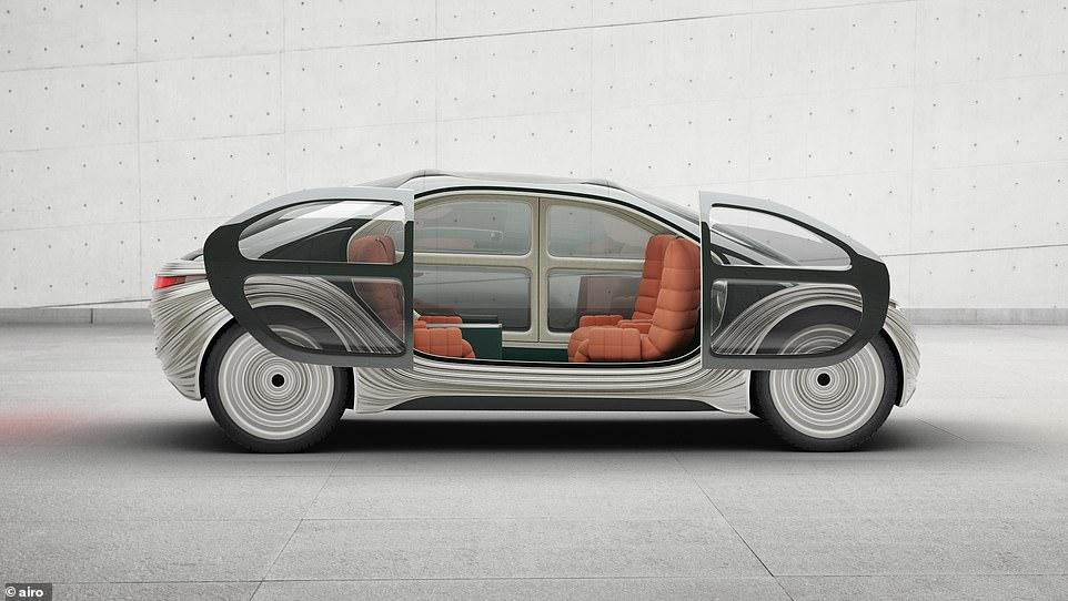 Британская компания разработала электромобиль будущего, салон которого превращается в «кухню» (ФОТО)