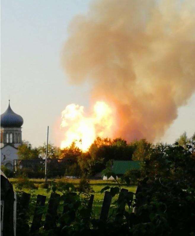 Горела земля. В РФ на магистральном газопроводе произошел взрыв (ФОТО, ВИДЕО) 7