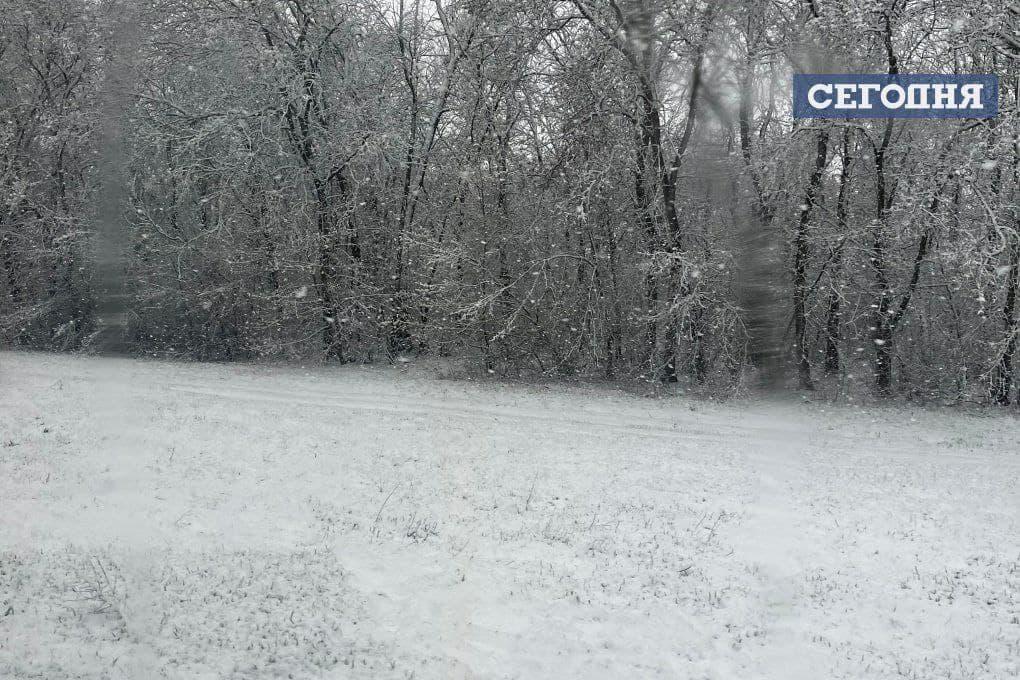 Украину засыпало снегом: фото непогоды из разных регионов