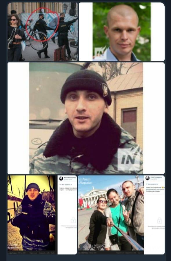 """В Беларуси экс-боец украинского """"Беркута"""" участвует в подавлении протестов"""