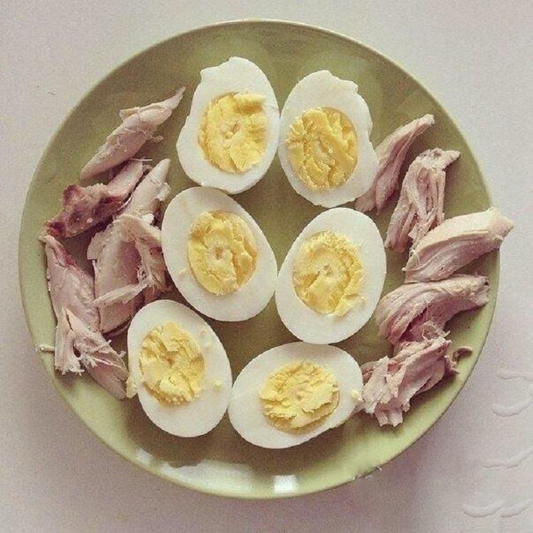 Безуглеводная диета яичница