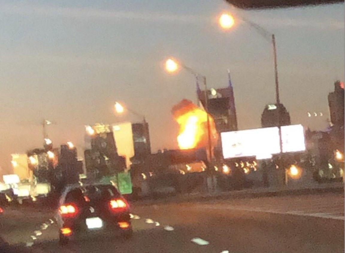 Мощнейший  взрыв прогремел вцентре города Нэшвилл вамериканском штате Теннесси_russian