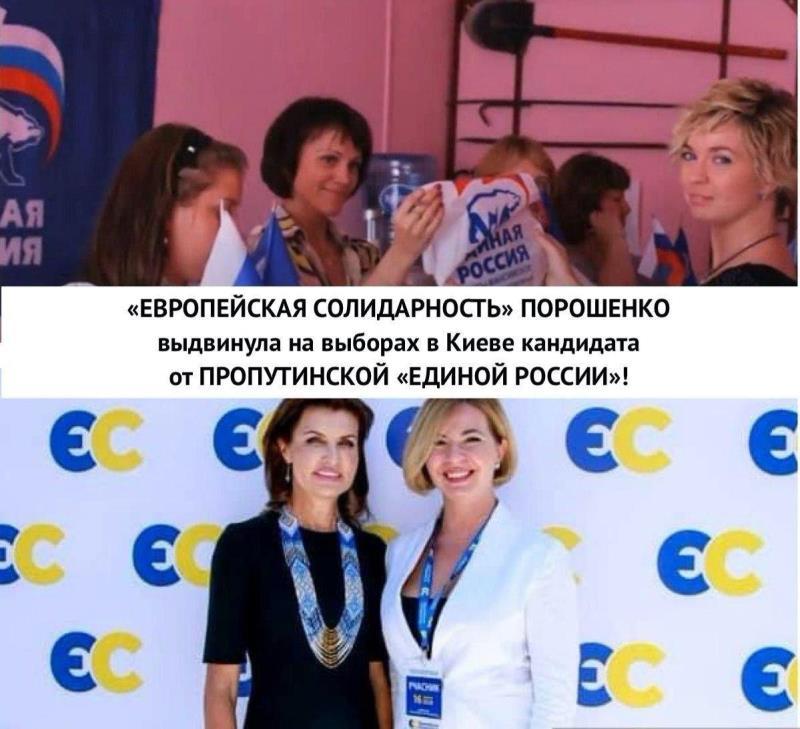 Выборы в Киеве - Европейская солидарность выдвинула экс-члена Единой России  - Апостроф