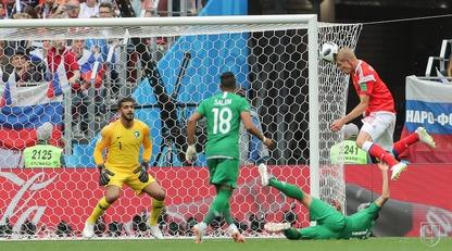 Россия - Саудовская Аравия - 5:0 Статистика матча