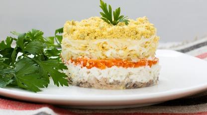 Салат Мимоза: классический рецепт и советы приготовления/Как приготовить знаменитое блюдо своими руками